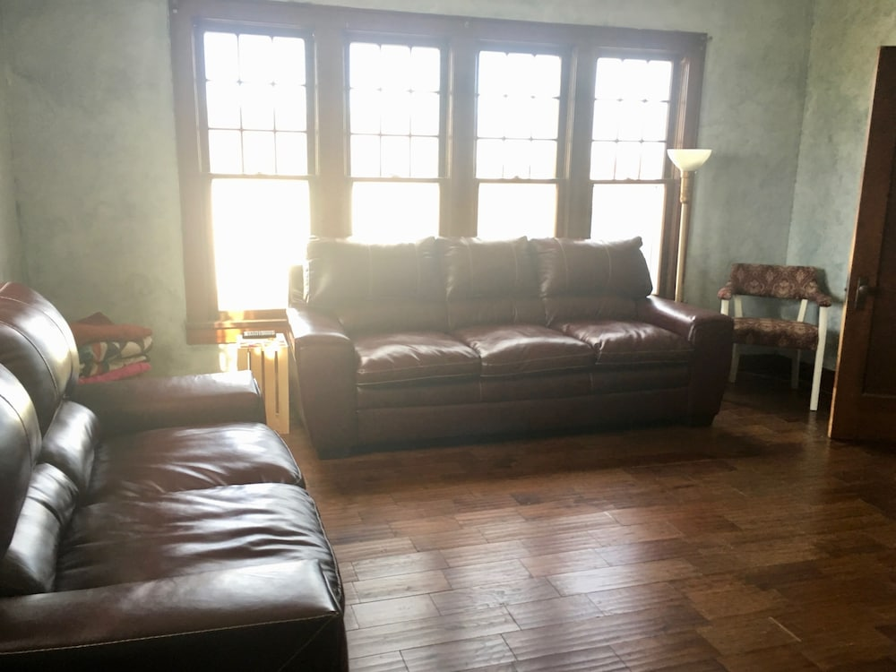 Living Room, Historic Farmhouse Near Springfield, MO