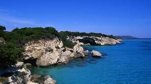 Vlak bij het strand, strandlakens