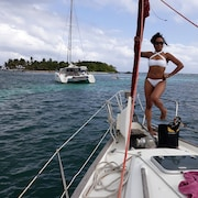 Sailboat Cruises From Grand Bourg Island OF Marie Galante Guadeloupe