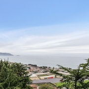 Top Coastline Views - Family Friendly - San Fran Airport West - Laundry + Parking
