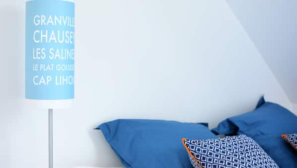 1 chambre, accès Internet, draps fournis