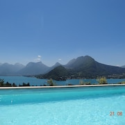 Talloires Swimming Pool Exceptional Lake Annecy AND Mountains