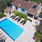 Villa Large Pool Panoramic View Near Cannes
