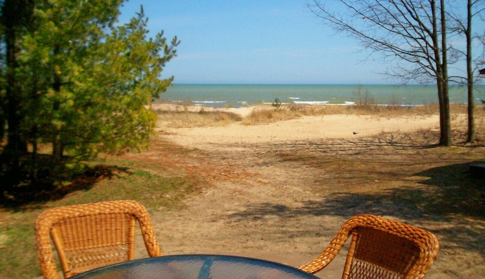 Terrace/Patio, Solitude and the Best Beach on Michigan's Sunrise Side