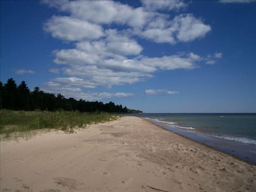 Beach, Solitude and the Best Beach on Michigan's Sunrise Side