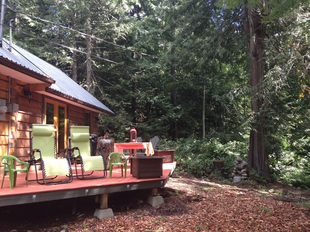 BBQ/Picnic Area, Log Cabin Fully Equipped. Couples, Families or Locum Professionals. Dogs Welcome