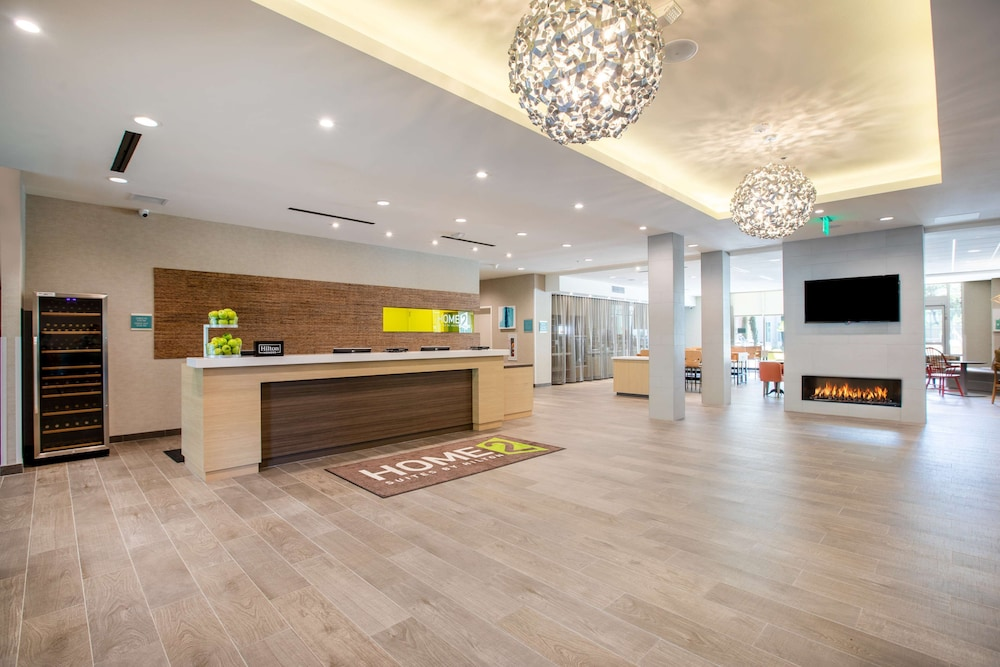 Lobby, Home2 Suites by Hilton Carlsbad, CA