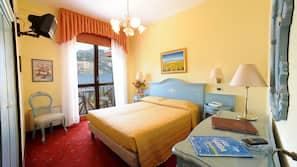 Minibar, Zimmersafe, WLAN, Bettwäsche