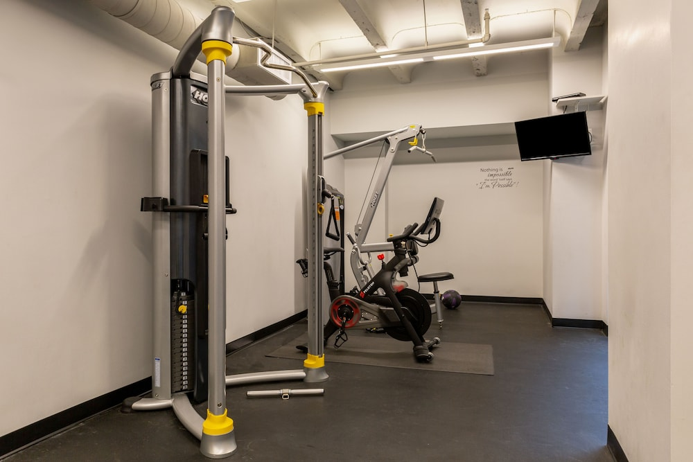 Fitness Facility, Stay Alfred at The Point