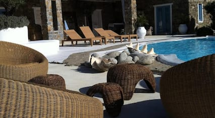 Villa With 6 Bedrooms in Mikonos, With Wonderful sea View, Private Pool, Terrace - 600 m From the Beach