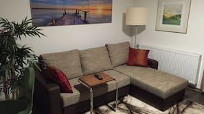 48-Zoll-Flachbildfernseher mit Kabelempfang