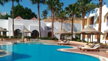 Studio in Sharm El Sheikh Resort, With Wonderful sea View, Shared Pool, Enclosed Garden - 200 m From the Beach