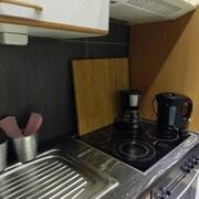 Kochnische im Zimmer