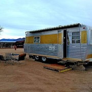 Restored Vintage Trailer / Near Death Valley