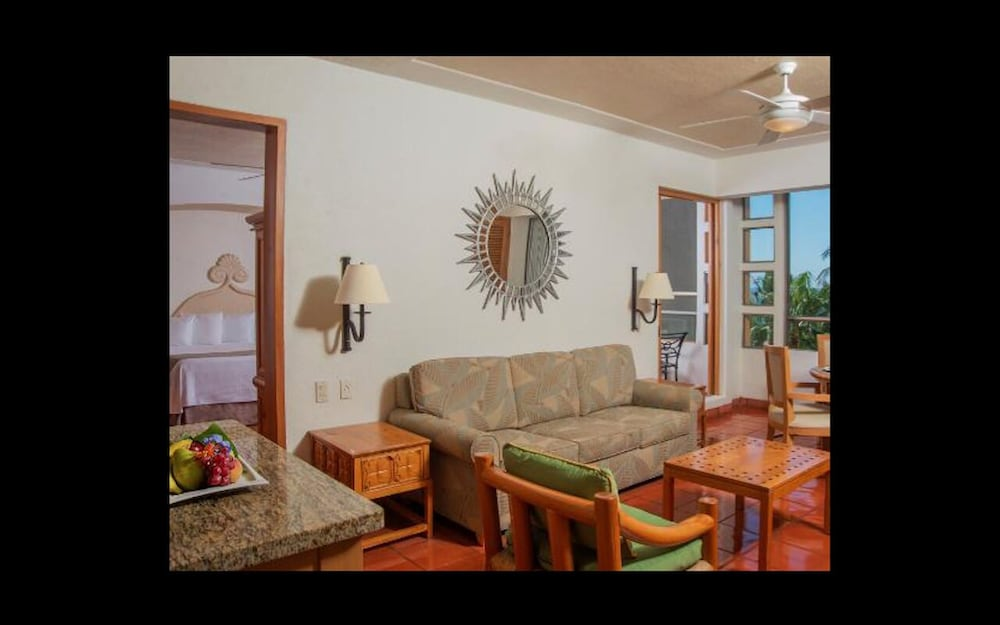 Living Room, Club Regina Puerto Vallarta With Great Views and Right on the Beach