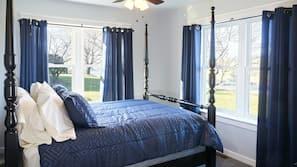 4 quartos, ferros/tábuas de passar roupa, Wi-Fi, roupa de cama