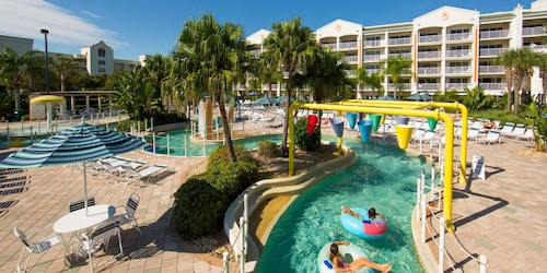 Luxury Beach Escape With Lazy River, Large Pool, Kids Splash Pad, and Hot Tub