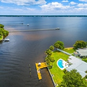 Wide River, Heated Pool, 2-cook Kitchen, Dogs Welcome, lg Dock , Fall Specials