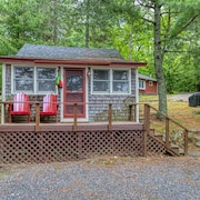 NEW Listing! Waterfront Shingled Cottage w/ Shared Boat Dock - Near Acadia!