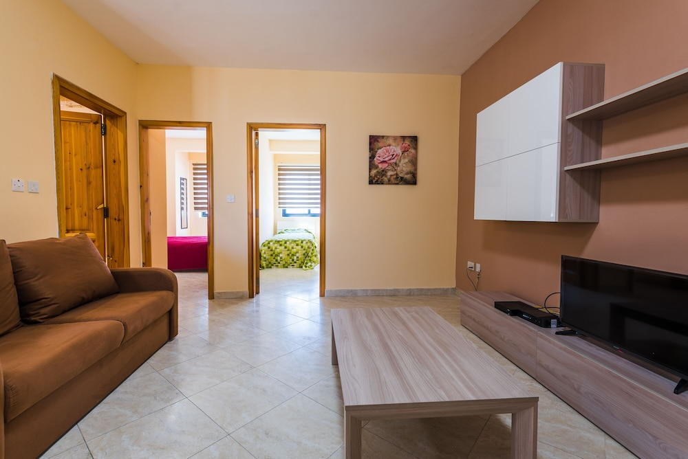 Living Room, Msida two-bedroom apartment