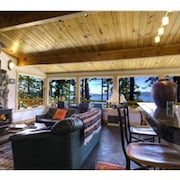 Enjoy the Fresh air and Spring, pet Friendly, Private Beach,bbq,fire Circle,wood