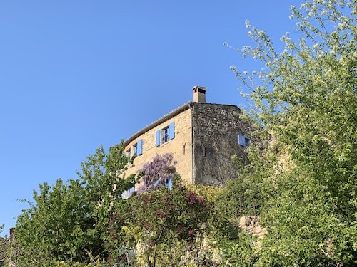 THE Blue House Close TO THE Gorges OF THE Ardèche