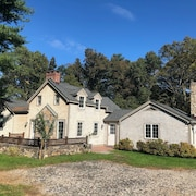 1905 Remodeled New England Cape Quintessential Connecticut Countryside Getaway