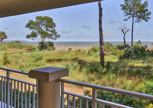 Lovely 3 BR Ocean Front Villa W/ Wrap-around Balconies Pool; Cart