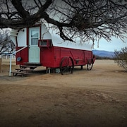 Covered Wagon /near Death Valley on Dude Ranch