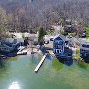 New Build On Conesus Lake. Sleeps 6. Designed For Entertaining