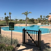 Superb Apartment on 5 Star Golf Resort, Golf Course Views Overlooking Pool