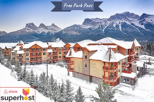 Luxury Suite in Canmore's Top Rating Resort