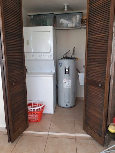 Laundry Room, Beach House In Safe Gated Community With Pool And Playground