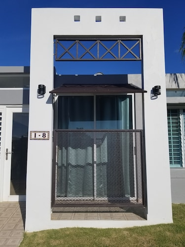 Exterior, Beach House In Safe Gated Community With Pool And Playground