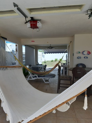 Living Room, Beach House In Safe Gated Community With Pool And Playground