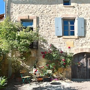 Holidays in the South of Ardeche in a Beautiful old Stone House