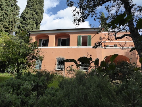Typical Liguria House With Garden