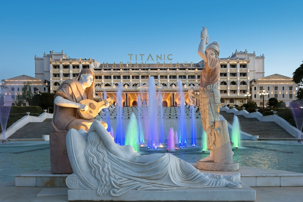 Property Entrance, Titanic Mardan Palace - All Inclusive