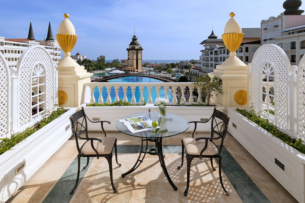 Balcony View, Titanic Mardan Palace - All Inclusive