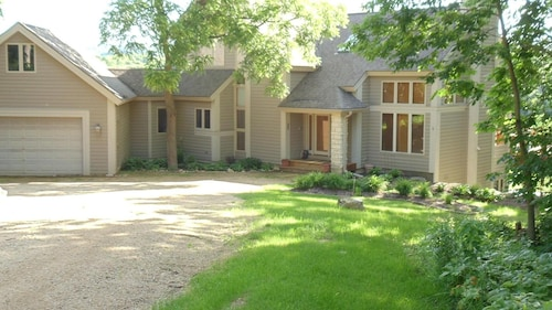 Lakeside is a Spacious, Flowing Home Located on the North Shores of Lake Galena
