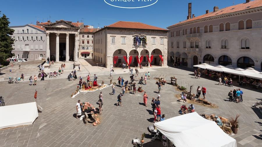 Augustus Forum View
