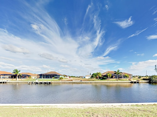 Brand-New Cape Coral Canal - 4 Br Home