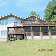 Big Lake Views Tims Ford Lake! Lots of Space and Great for Family get Togethers