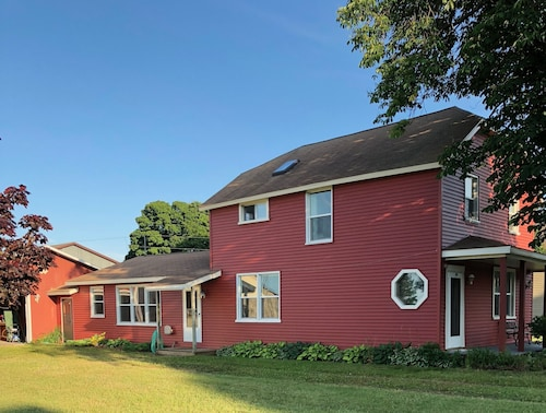 Big Red a Newly Renovated 4 Bedroom Historic Home in the Heart of Grand Marais!