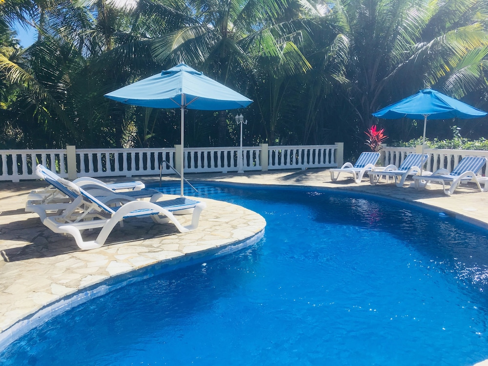 Pool, Exclusive Oceanfront Villa, Private Beach, Near Puerto Plata