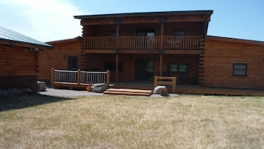 Spacious Log Home in Whitewood, SD available year around.