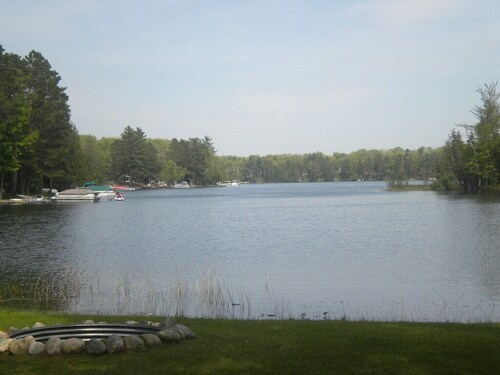 Secluded Tee Lake Lakefront Home, Lewiston Michigan