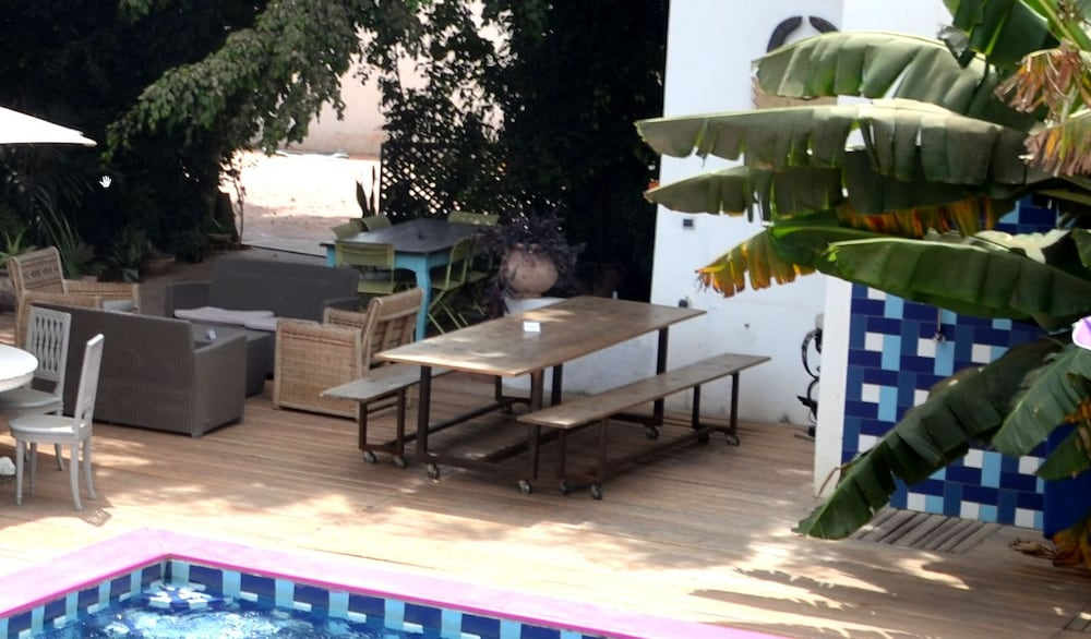 Terrace/Patio, Quiksilver Boardriders Surf Camp - Hostel