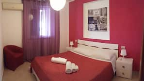 1 Schlafzimmer, Schreibtisch, Verdunkelungsvorhänge, kostenloses WLAN