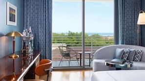 1 Schlafzimmer, italienische Bettbezüge von Frette